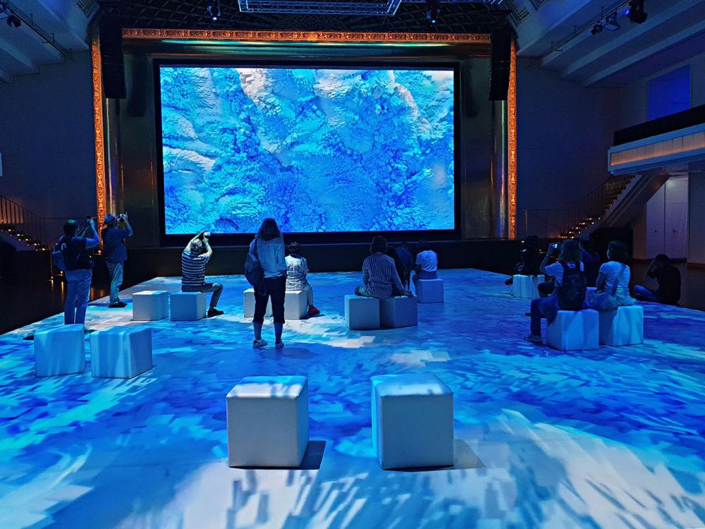 Digital Dreams von Refik Anadol im Kurhaus Baden-Baden
