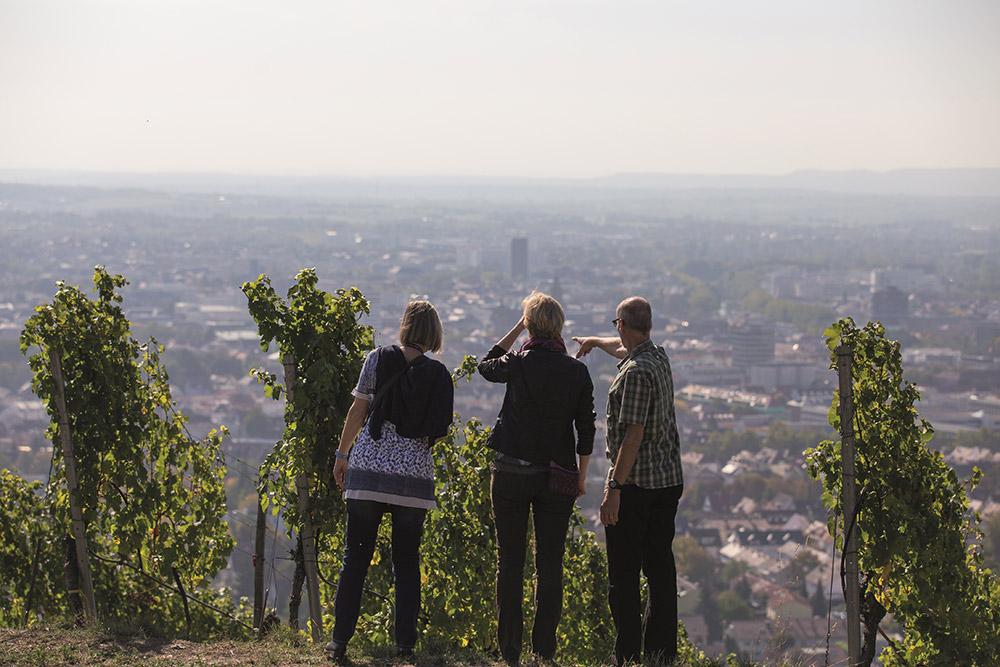Heilbronn / Blick vom Wartberg; Bildnachweis: Heilbronn Marketing GmbH / Achim Mende