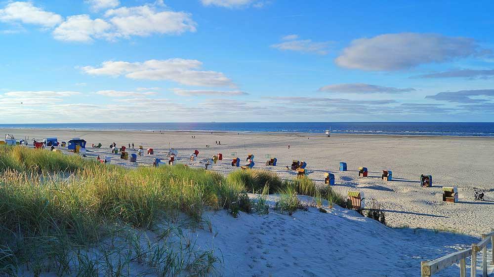 Deutschlands schönste Inseln: Endlose Sandstrände auf Juist | Bild: Deutschlandjäger