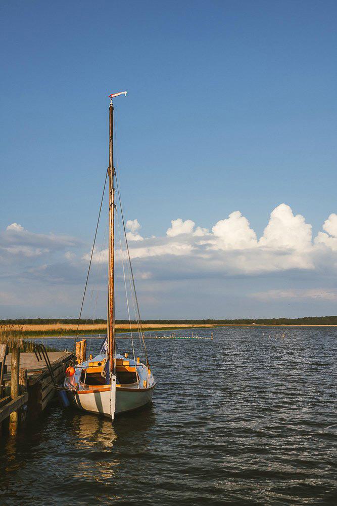 Naturhafen Krummin auf der Ostseeinsel Usedom | Bild: snoopsmaus