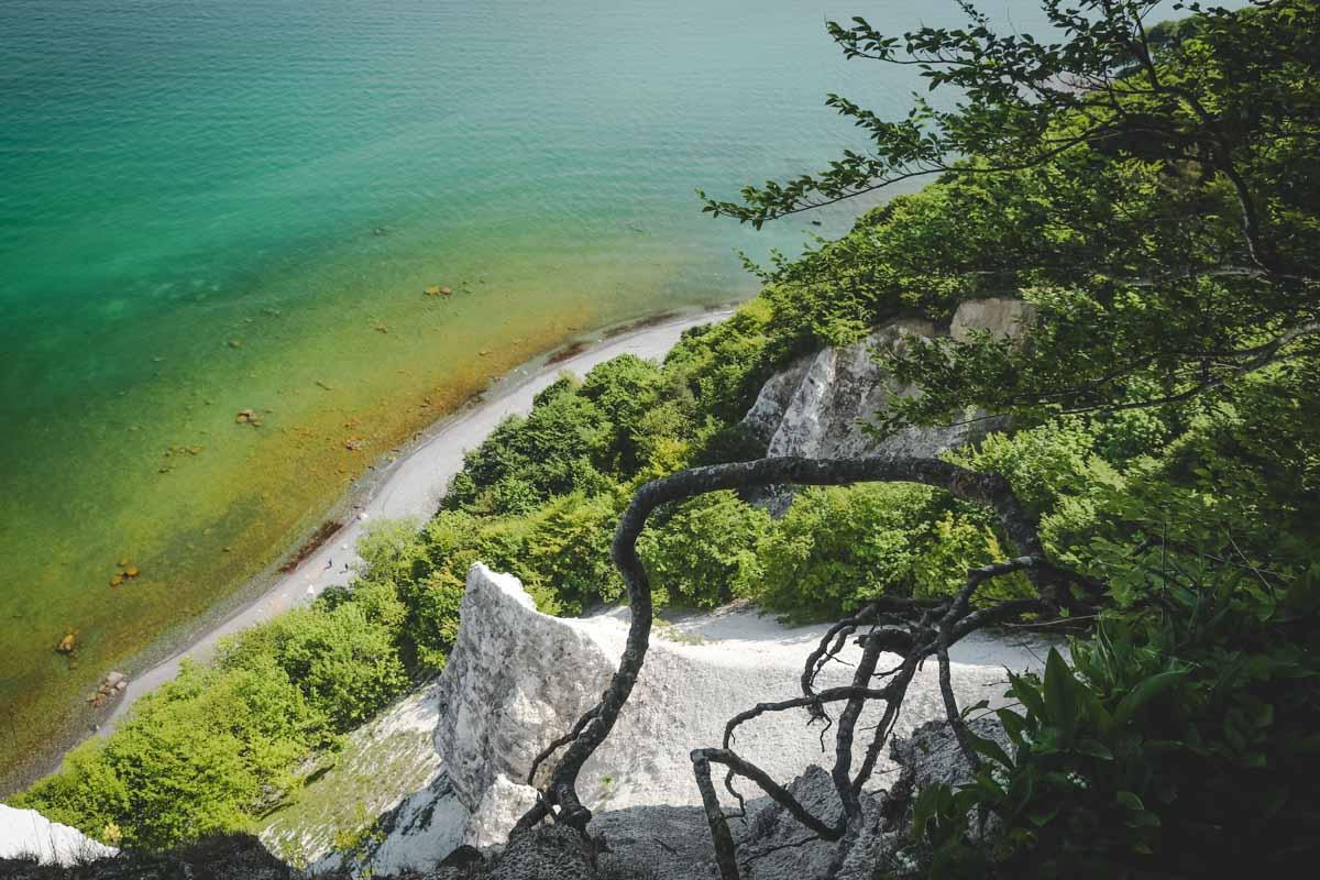 Deutschlands schönste Inseln: Die berühmten Kreidefelsen von Rügen | Bild: blickgewinkelt