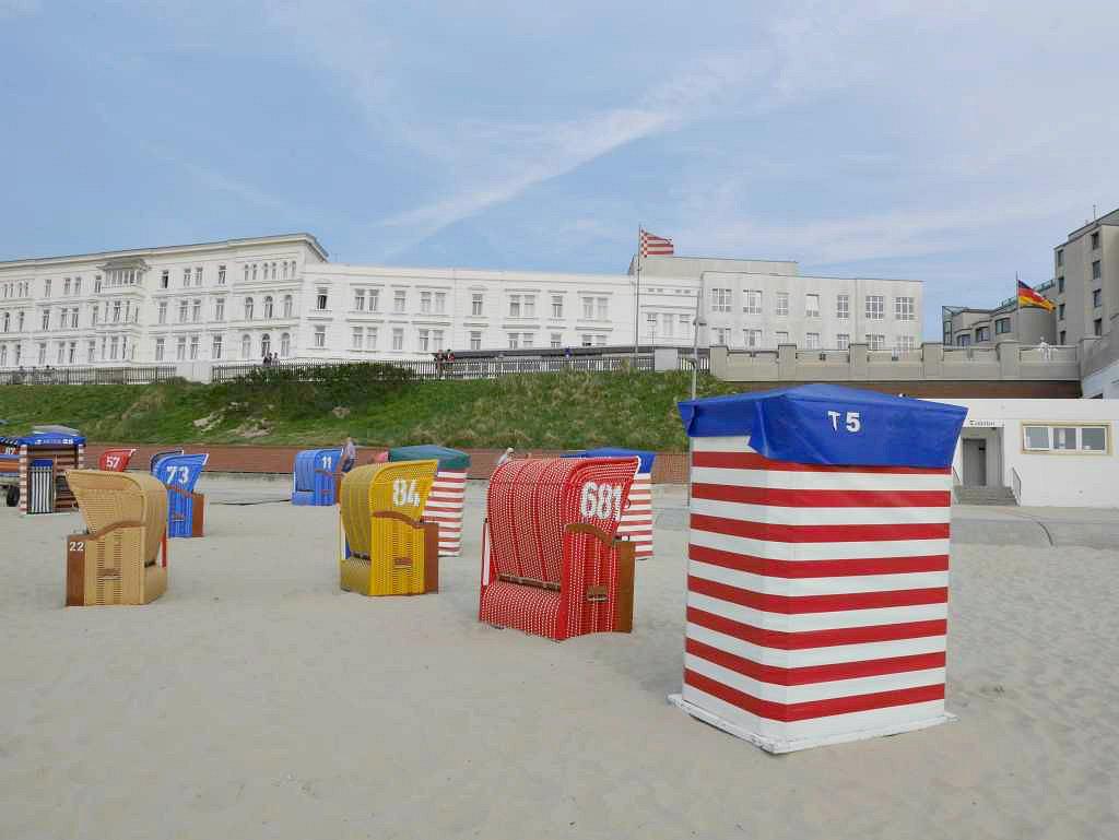 Strandzelte auf Borkum | Bild: family4travel