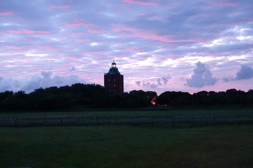 Abendhimmel auf der Insel Neuwerk | Bild: Spaness
