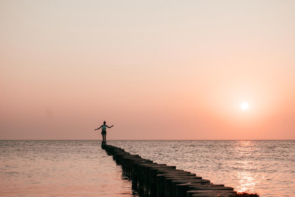 Sonnenuntergang auf Hiddensee | Bild: Outdoornomaden