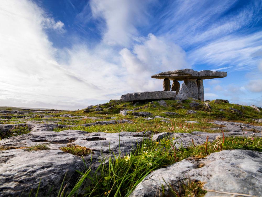 Poulnabrone Dolmen, The Burren | Bild: Tourism Ireland