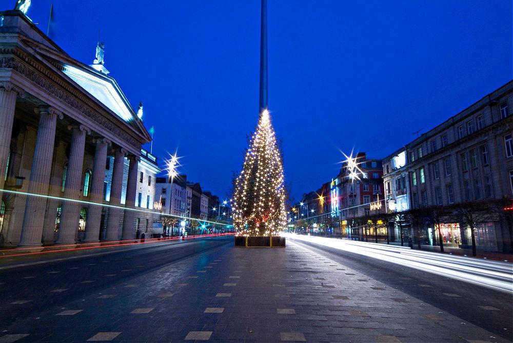 Weihnachten in Irland: Lichterglanz in Dublin | Bild: Tourism Ireland