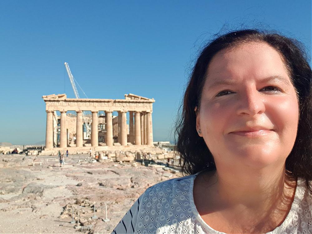 So leer sieht man die Akropolis selten