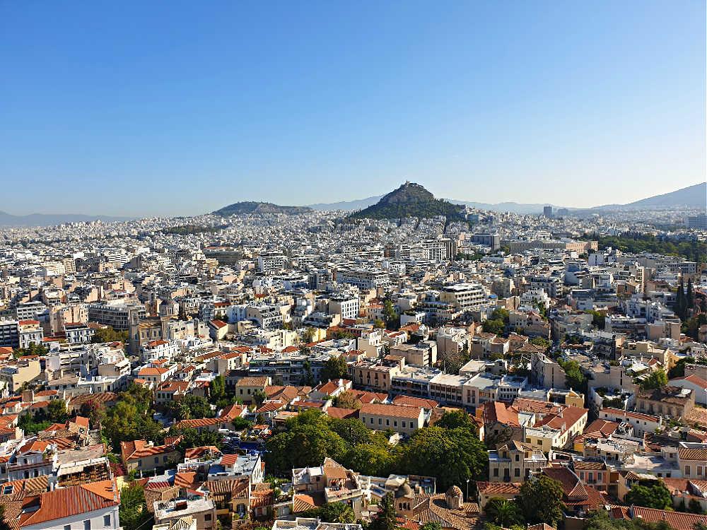 Häusermeer von Athen