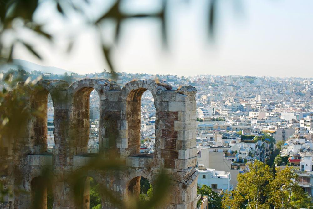 Dionysostheater bei der Akropolis
