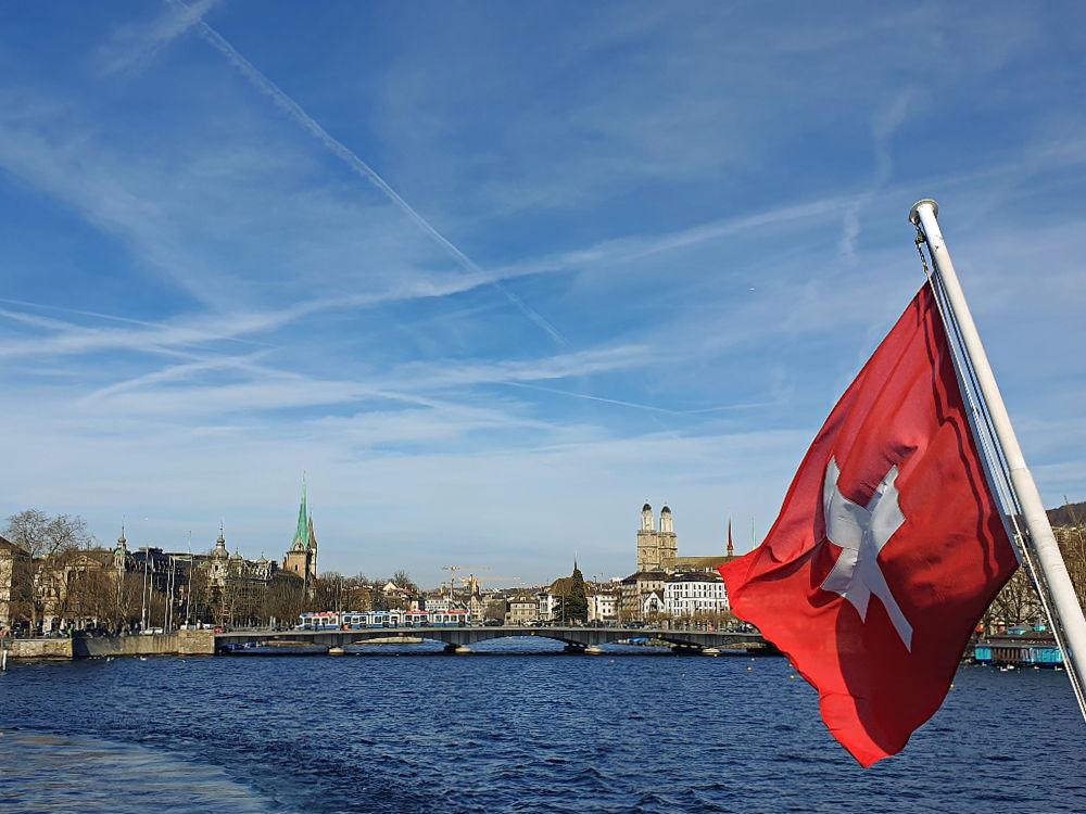 Bootsfahrt auf dem Zürichsee