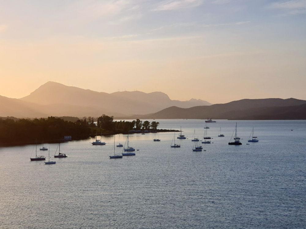 Insel Poros im Saronischen Golf