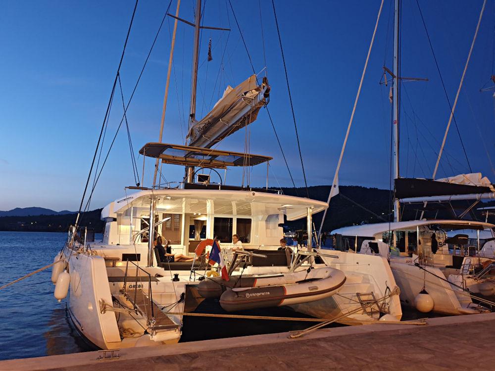 Unser Katamaran von Argos Yachtcharter / Dream Yacht Charter