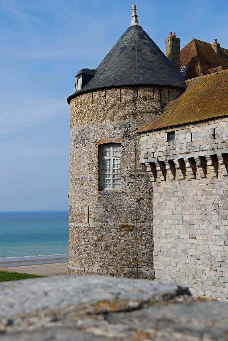 Die Burg von Dieppe
