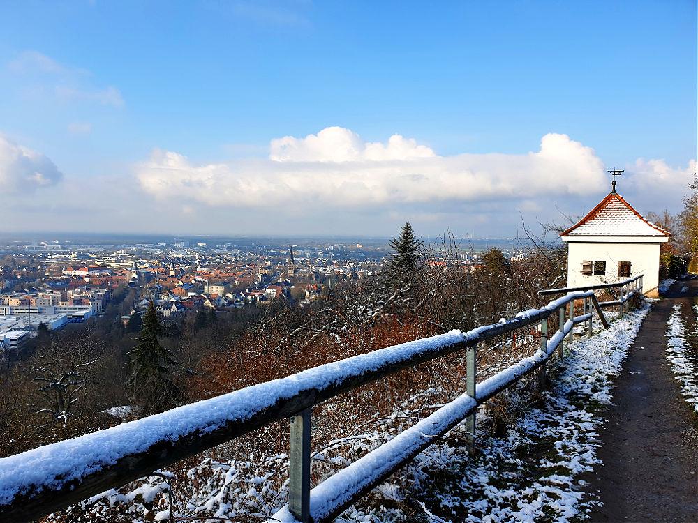Aussichtspunkt am Ettlinger Panoramaweg: Weißes Häusle