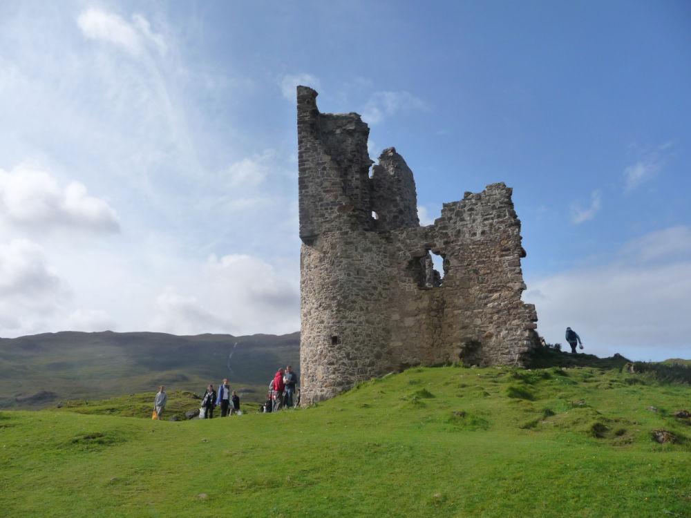 Burgruine Ardvreck Castle in Schottland