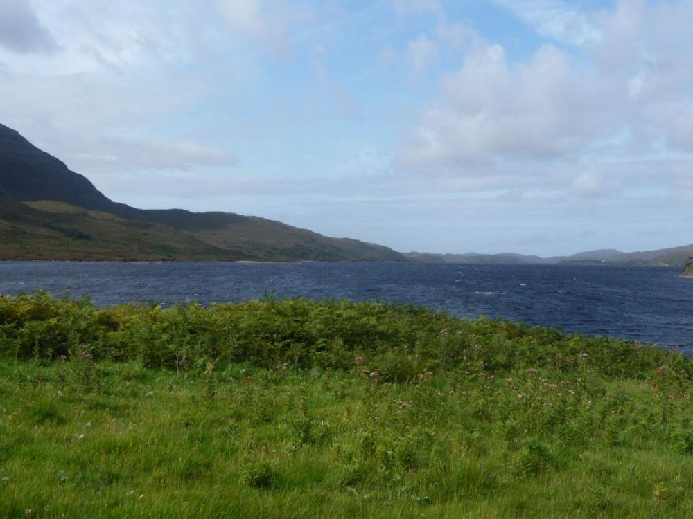 Naturschönheit am Loch Assynt