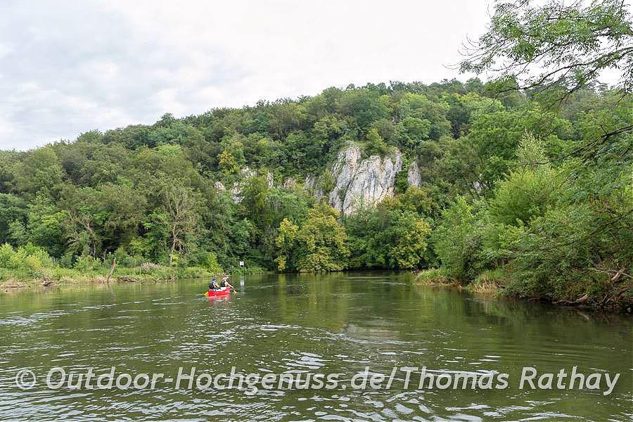 Kanutour im Naturschutzgebiet Donauwiesen | Bild: Outdoor-Hochgenuss