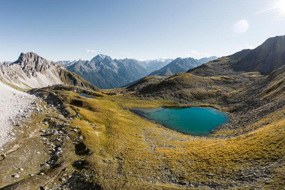 Stubaier Bergseen - Schlicker See   Bild: TVB Stubai Tirol/Andre Schönherr