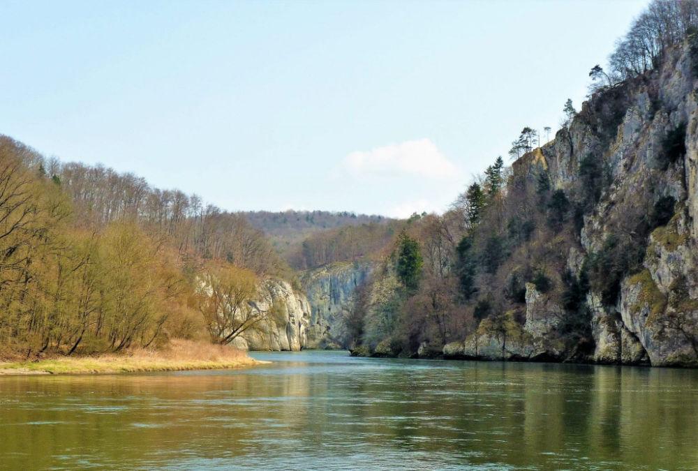 Donaudurchbruch Weltenburger Enge | Bild: Urlaubsreise.blog
