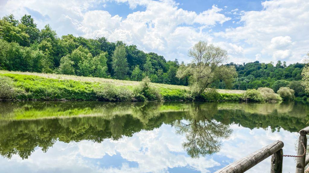 Flusslandschaft der Lahn | Bild: lustloszugehen