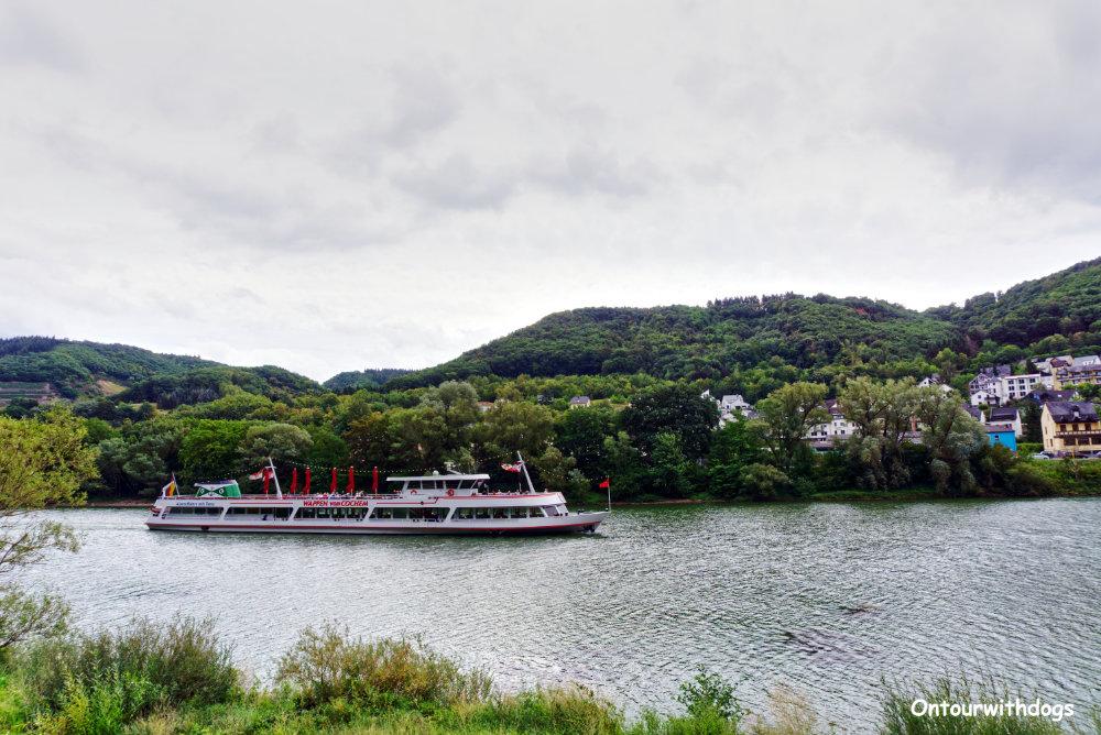 Schifffahrt auf der Mosel | Bild: Ontourwithdogs