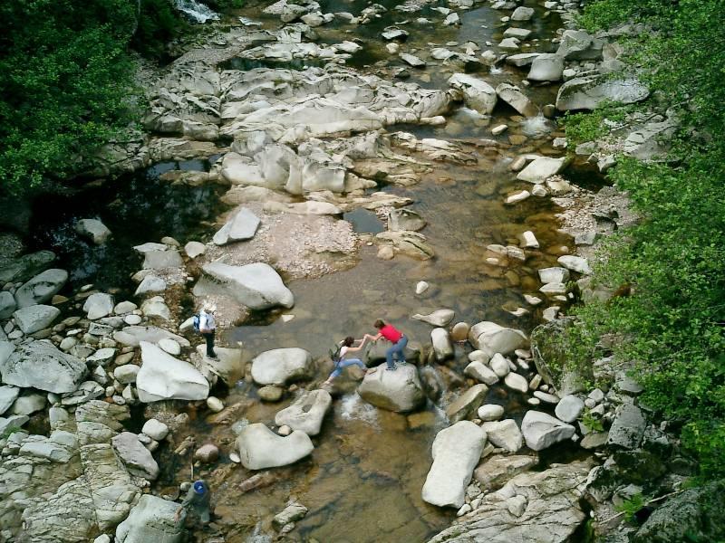 Flussbettwanderung im Murgtal