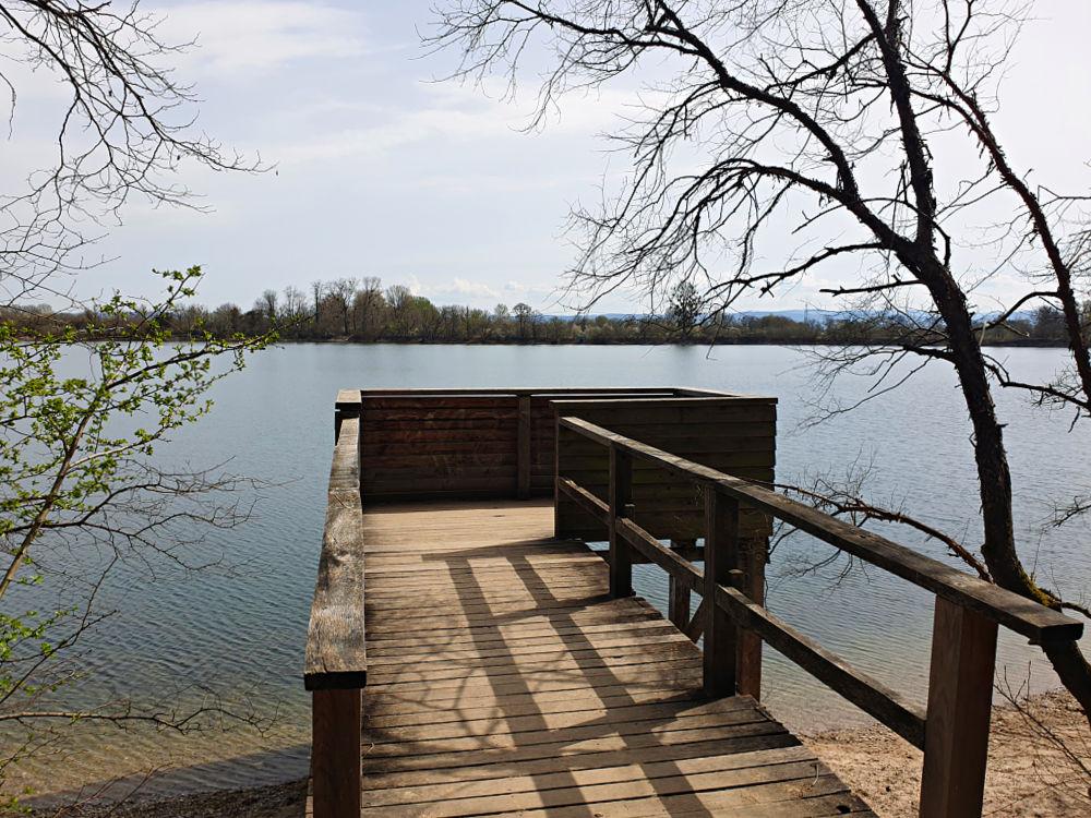 Aussichtsplattform am Fermasee