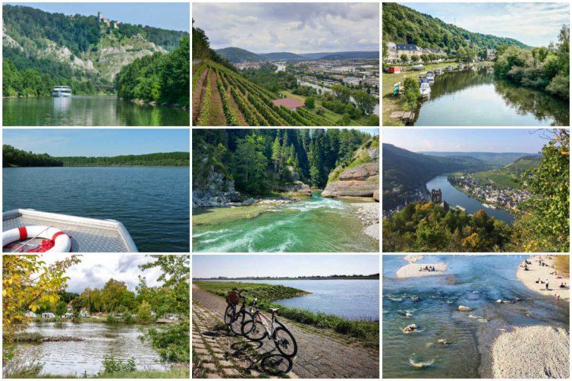 Flusslandschaften und Flüsse in Deutschland